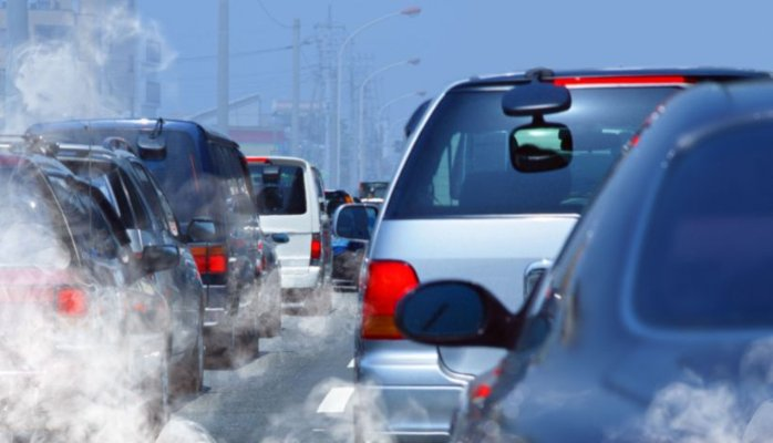 Air pollution from car emmission